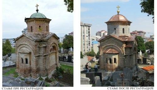 Završena prva faza obnove kapele Dine Mančića 9