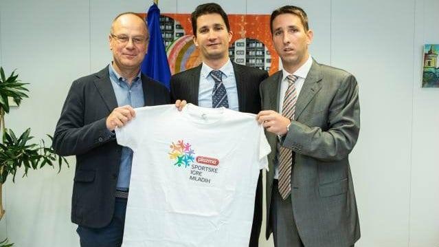 Predstavnici Sportskih igara mladih u poseti EK 1