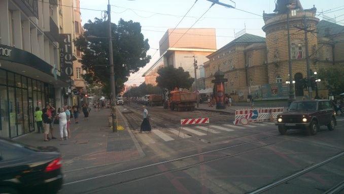 Ulica kralja Milana zatvorena za saobraćaj 5