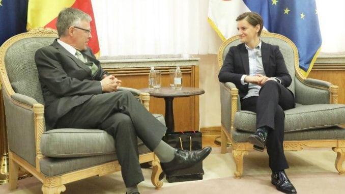 Oproštajna poseta belgijskog ambasadora 1