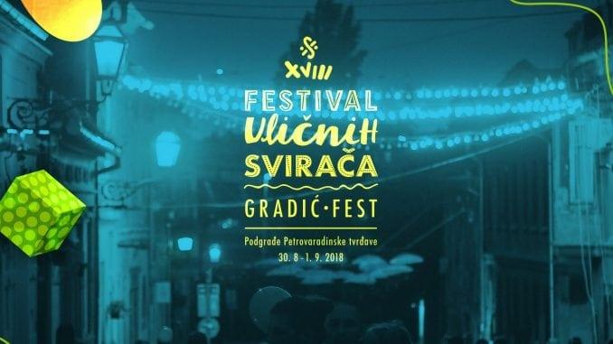 Festivala uličnih svirača - Gradić fest od 30. avgusta na Petrovaradinu 1