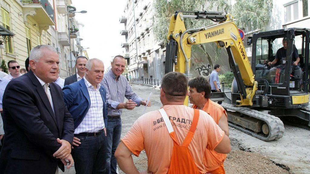 Vesić: Počinje uređenje Takovske ulice 2
