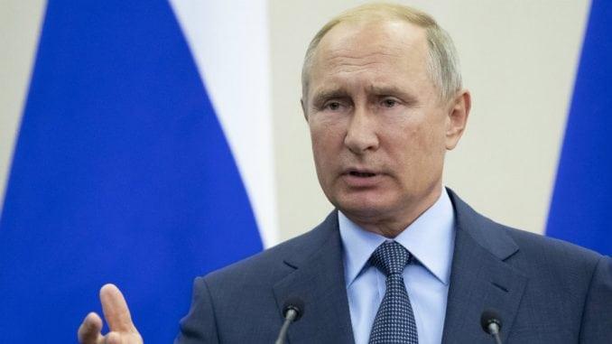 Vučić i Putin o Kosovu u Beogradu 1