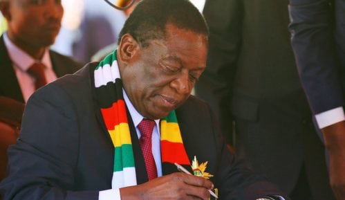 Zimbabve: Mnangagva položio zakletvu 4