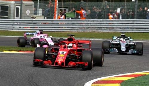 F1: Maestralni Fetel najbrži u Belgiji 7