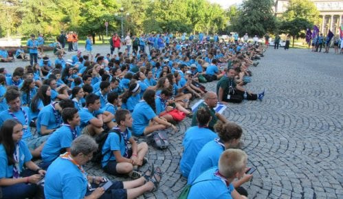 Završna svečanost 10. smotre Saveza izviđača Srbije 9