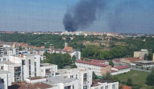 Požar u nehigijenskom naselju na Bežanijskoj kosi 5