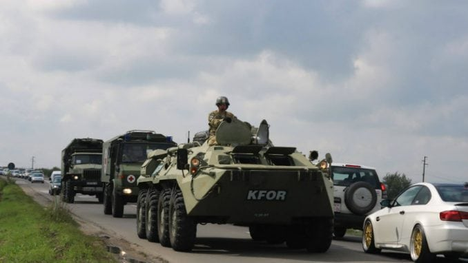 KFOR najavljuje pokrete trupa i vežbe u različitim sredinama na Kosovu 4