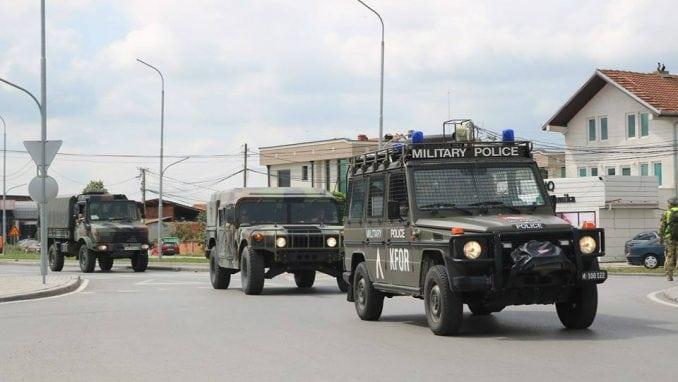 Vojne vežbe Kfora na zapadu i severu Kosova 1
