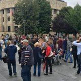 Protest u Banja Luci nakon prebijanja novinara 6
