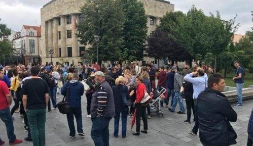 Protest u Banja Luci nakon prebijanja novinara 4