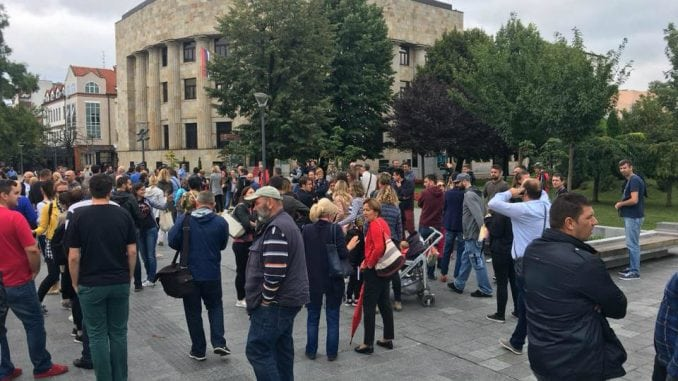Protest u Banja Luci nakon prebijanja novinara 1
