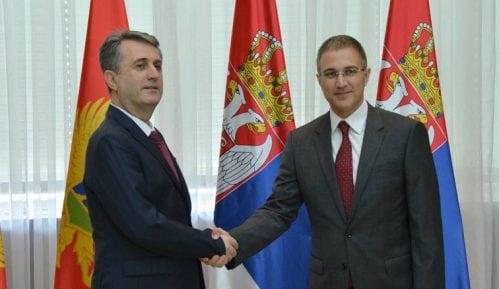 Ministri unutrašnjih poslova Srbije i CG o organizovanom kriminalu i migracijama 8