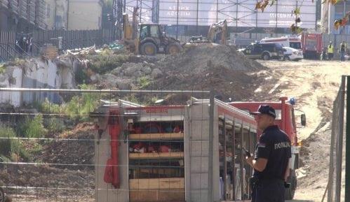 Obustavljeni radovi na gradilištu u Kneza Miloša 5