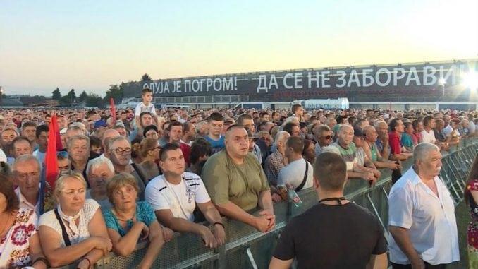 "U Krušedolu državna manifestacija obeležavanje  godišnjice ""Oluje"" 1"