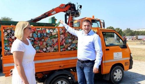 Nikodijević: Završena akcija prikupljanja reciklažnog otpada nakon Bir festa 10