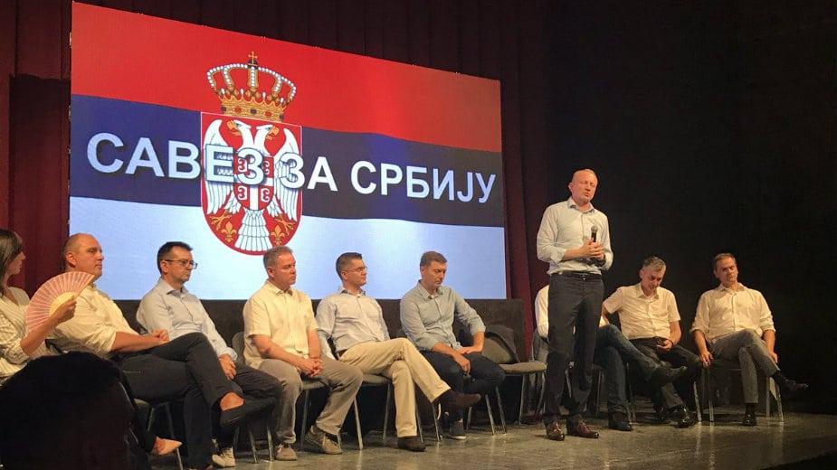 Savez za Srbiju: Provokacija ROSU 1