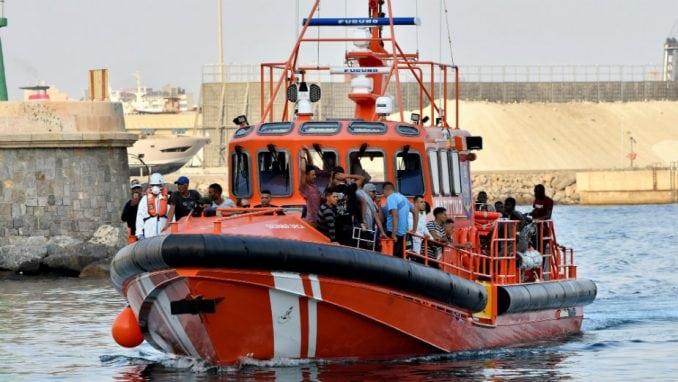 Španska pomorska služba spasila 447 migranata 1