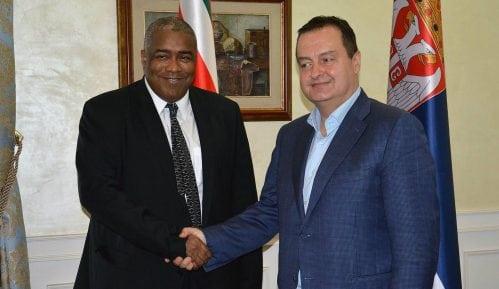 Dačić sa ministrom finansija Surinama o ekonomskoj saradnji 2