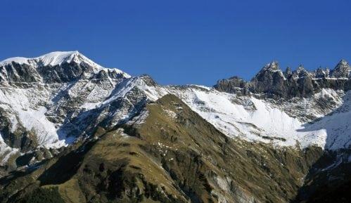 Na Alpima sneg za vikend 6