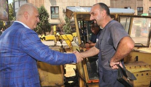 Vesić: Temeljna rekonstrukcija Takovske ulice 6