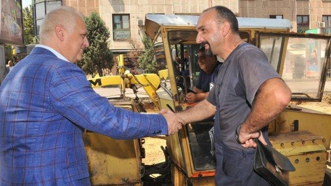 Vesić: Temeljna rekonstrukcija Takovske ulice 1