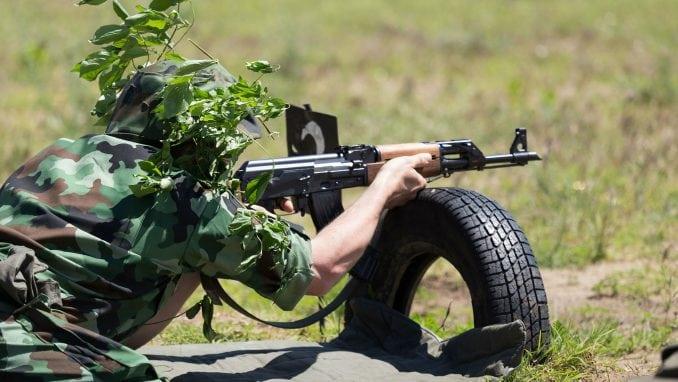 """Vojne vežbe na """"Peskovima"""" 1"""