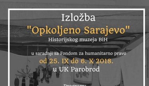 """Izložba """"Opkoljeno Sarajevo"""" u Parobrodu 8"""