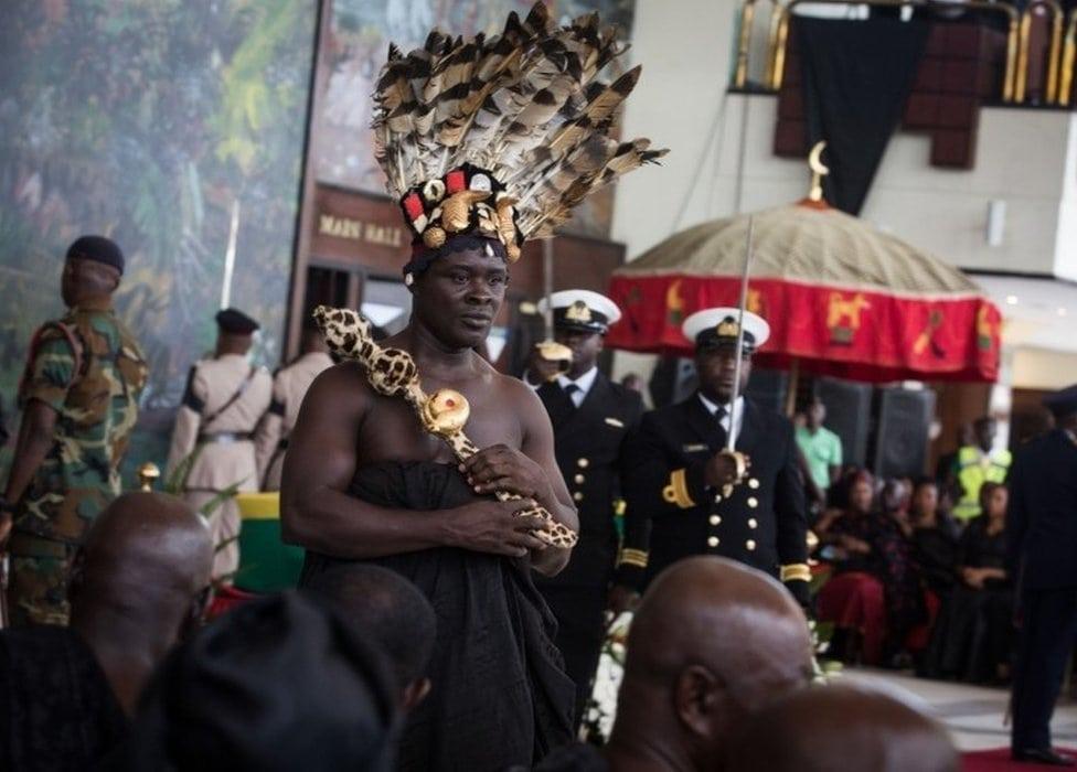 Sa sahrane Kofi Anana