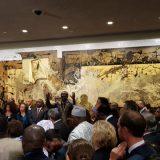 Otkrivena Mandelina statua u UN 13