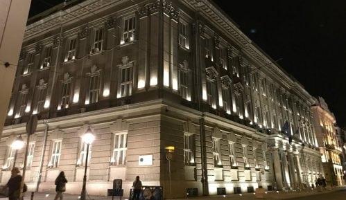 Dekorativno osvetljen Filološki fakultet 4
