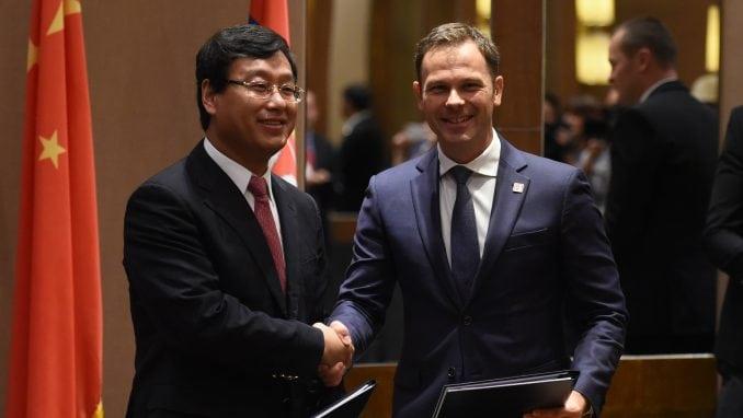Siniša Mali potpisao pet sporazuma u Pekingu 1