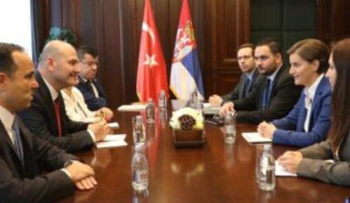 Brnabić sa turskim ministrom unutrašnjih poslova o evrointegracijama 12