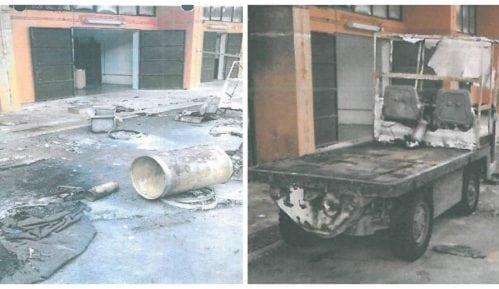 """Lažirani snimci eksplozije u """"Milanu Blagojeviću"""" 9"""