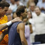 Nadal predao meč, Del Potro prvi finalista US Opena 2