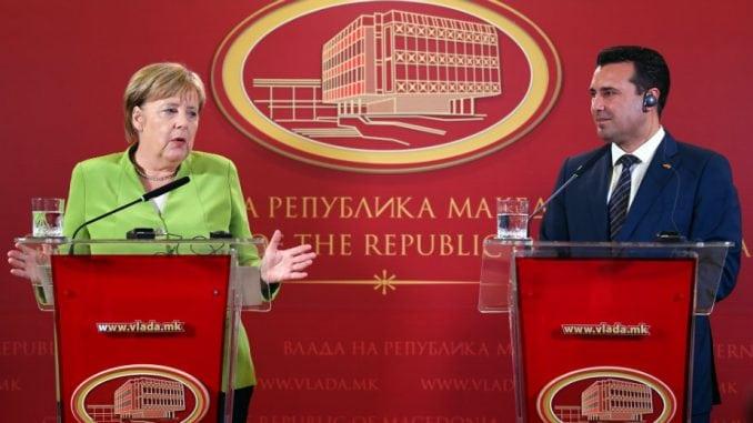 Merkel Makedoncima: Referendum je vaša istorijska šansa 2