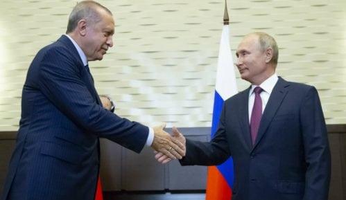 Putin i Erdogan dogovorili tampon zonu u Idlibu 6