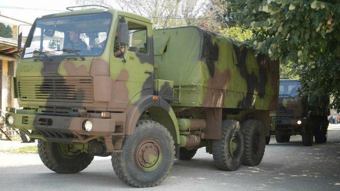 Šest FAP kamiona vojsci 1