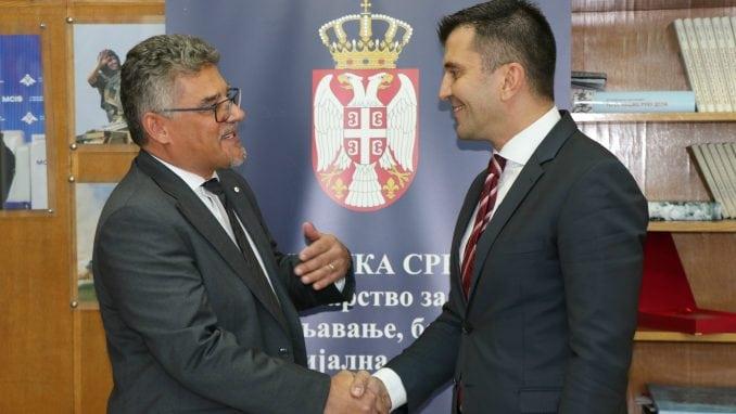 Đorđević sa novopostavljenim ambasadorom Češke o saradnji 1