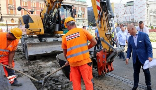 Vesić: Stručnjaci utvrđuju da li su pronađeni ostaci deo Stambol kapije 2