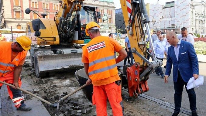 Vesić: Stručnjaci utvrđuju da li su pronađeni ostaci deo Stambol kapije 1