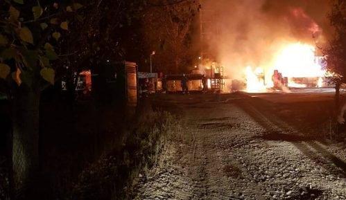 NIS: Požar ugašen, nema opasnosti po životnu sredinu 9