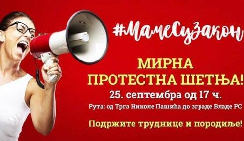 Protestna šetnja 25. septembra za podršku trudnicama i porodiljama 5