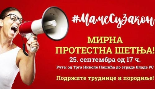 Protestna šetnja 25. septembra za podršku trudnicama i porodiljama 15