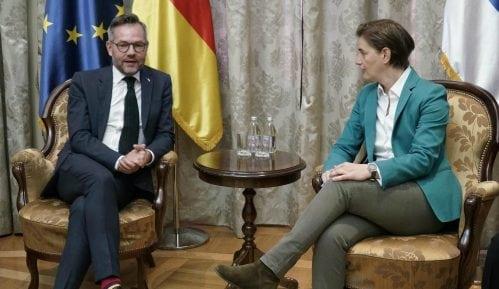 Brnabić: Saradnja sa Nemačkom konstantno napreduje 2