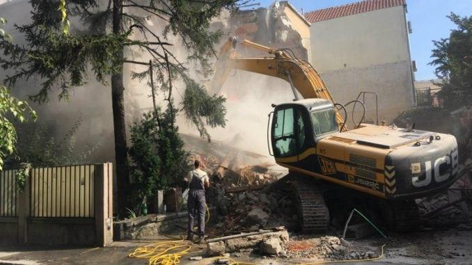 Počelo rušenje u Topolskoj, građani najavljuju blokadu saobraćaja (VIDEO) 1