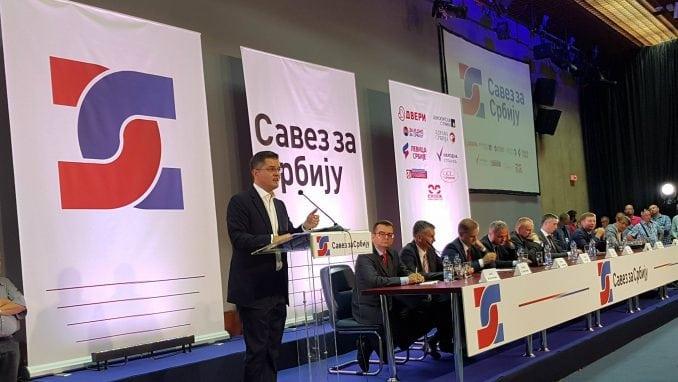 U Beogradu i zvanično formiran Savez za Srbiju 1