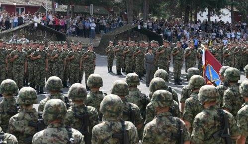 Kadeti, učenici i rezervni oficiri položili zakletve 14