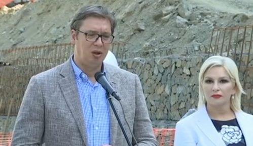 Vučić stigao na Kosovo 3