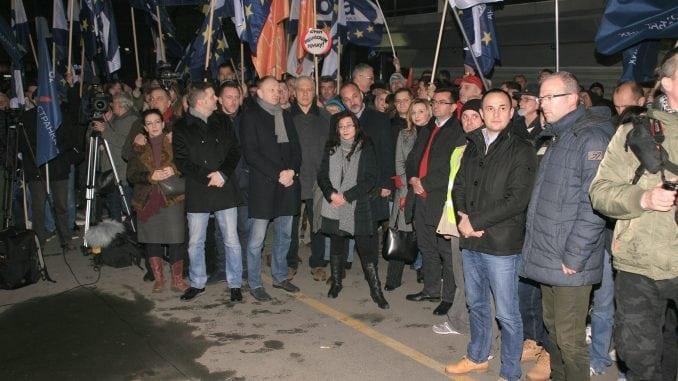 Opozicija 12. oktobra o izbornim uslovima 1